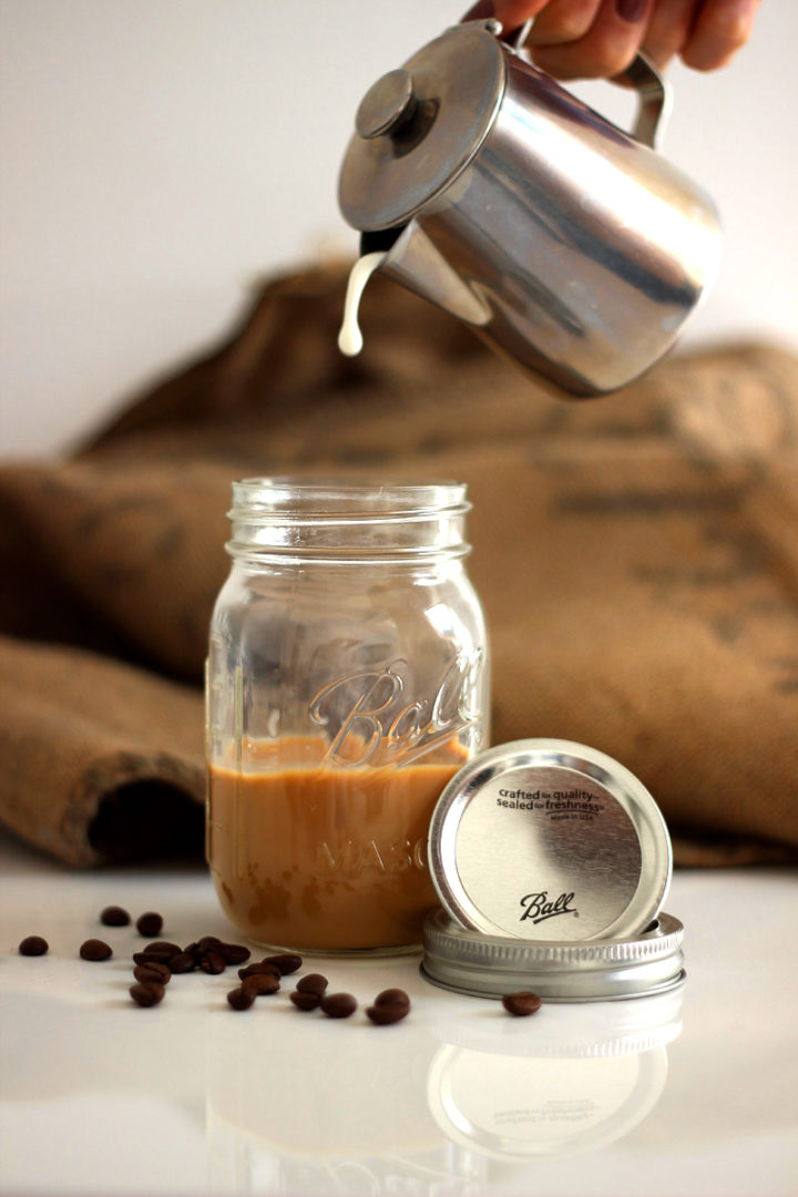 Ball Mason Jar 16oz Kaffee