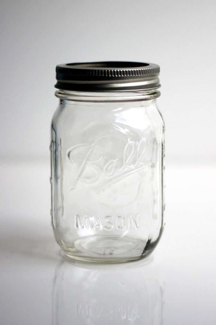 Ball Mason Jar 16oz Regular Mouth Clear