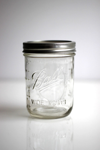 Ball Mason Jar 16oz Wide Mouth Frontside