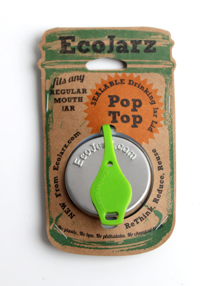 EcoJarz PopTop Regular grün Lid Deckel green Regular Mouth
