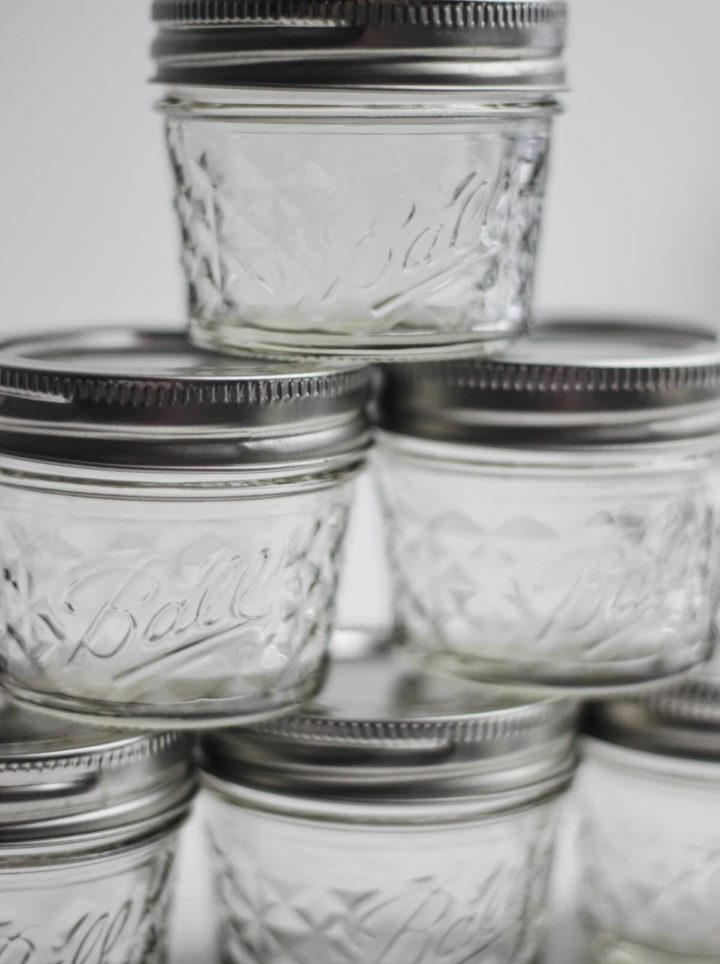 Quilted Jars 4oz 6er Pack