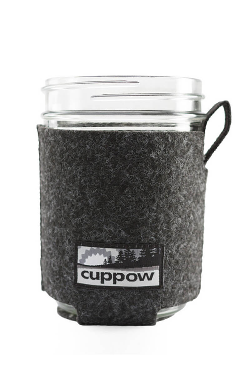 Cuppow Jar Coozie in Grau