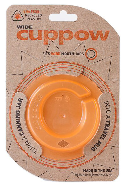 Cuppow Lid Orange Trinkaufsatz in Orange